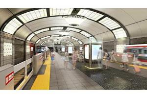 大阪メトロが顔認証導入した際の心斎橋駅イメージ