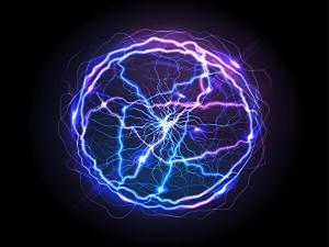 レーザー光線のイメージ画像