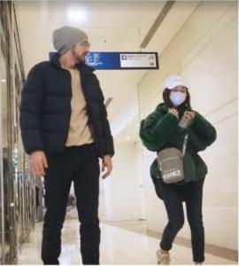 大島優子と結婚相手と噂される男性の2ショット