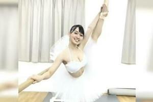 松浦景子のバレエ姿
