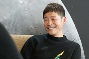 前澤友作社長の笑顔