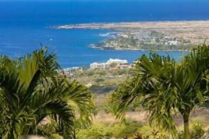 ハワイ島の海の風景