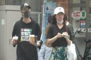 川口眞緒と彼氏の2ショット