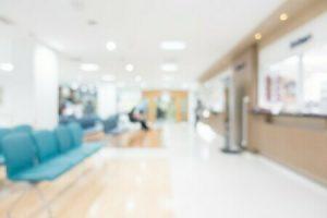 病院内風景のぼかしイメージ
