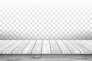 市松模様と木の板のホワイトイメージ