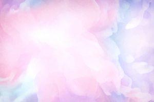 ピンクの水彩模様のイメージ図