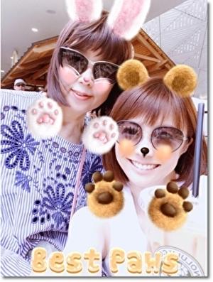 小林麻耶と母親の2ショット