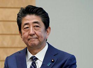 安倍総理の神妙な表情