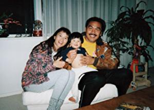 馳浩と嫁と娘