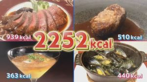 福田萌子の夕食