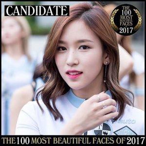 twiceミナの世界で最も美しい顔2017